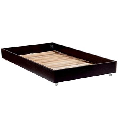 Simple Trundle Bed (Espresso)