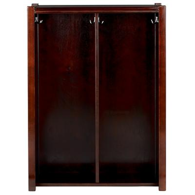 Espresso Cube Locker Hutch