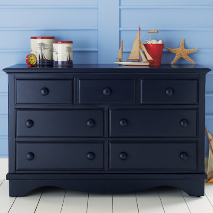 Navy blue kids room decor 2017 2018 best cars reviews for Navy blue painted furniture