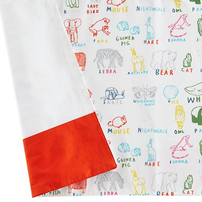 Field Guide Crib Skirt