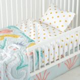 Marine Queen Toddler Bedding