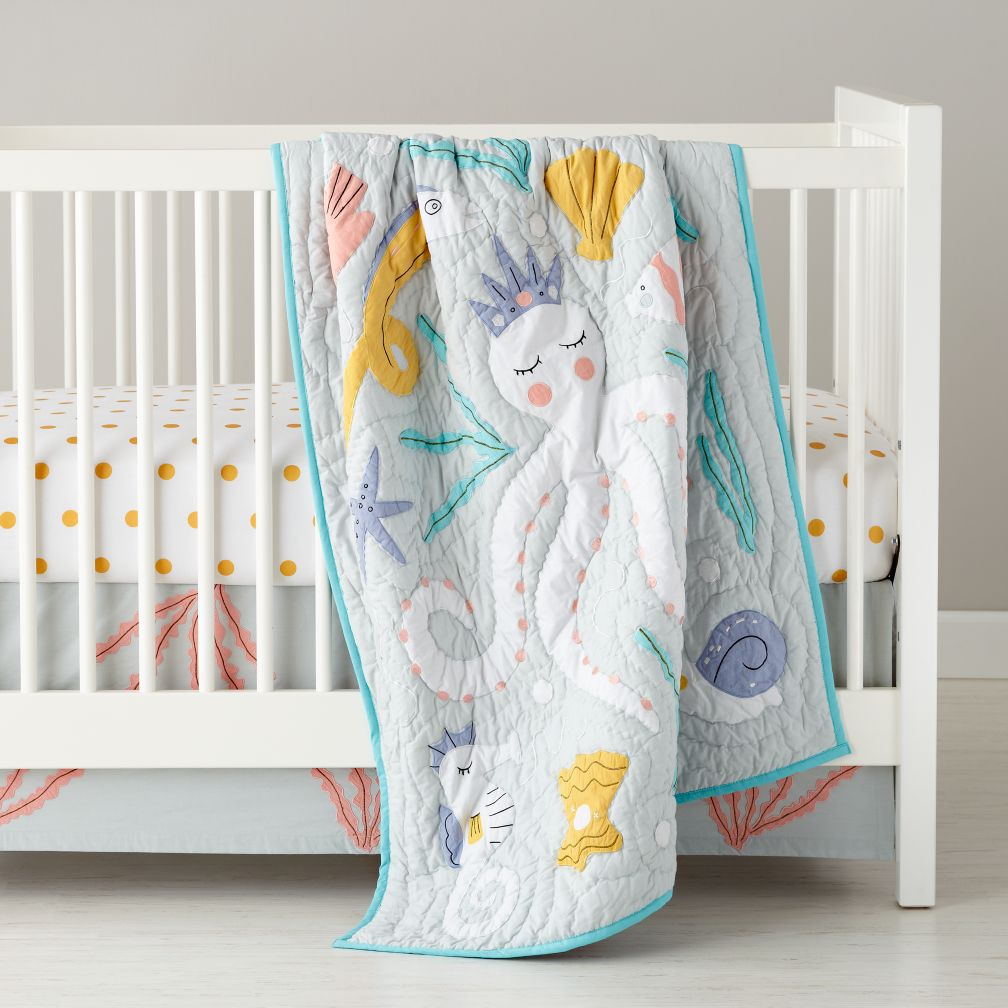 Baby Bedding Marine Life Octopus Crib Bedding The Land