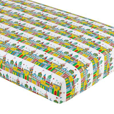 1001 Good Nights Crib Fitted Sheet