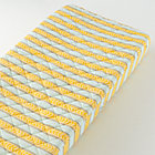Yellow Stripe Changing Pad Cover