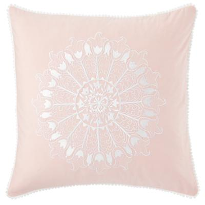 Antique Chic Floral Throw Pillow