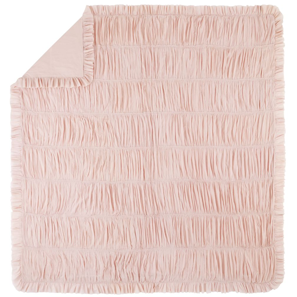 Full-Queen Antique Chic Duvet Cover (Pink)