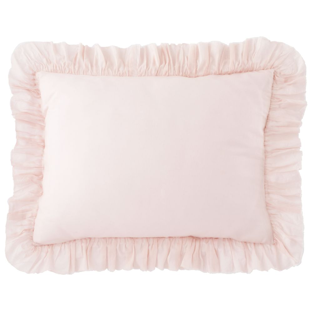 Antique Chic Ruffle Sham (Pink)