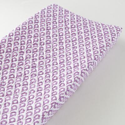 Mosaic Paisley Changing Pad Cover (Lavender Diamond)
