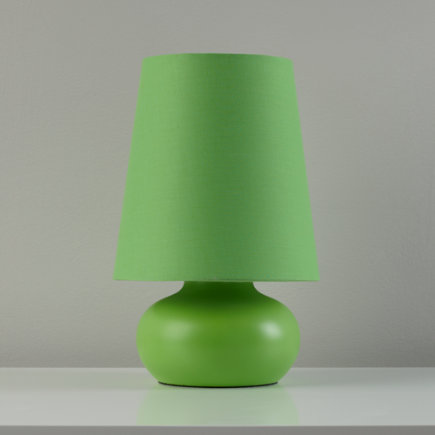 kids lighting small green table lamp green lilliput lamp
