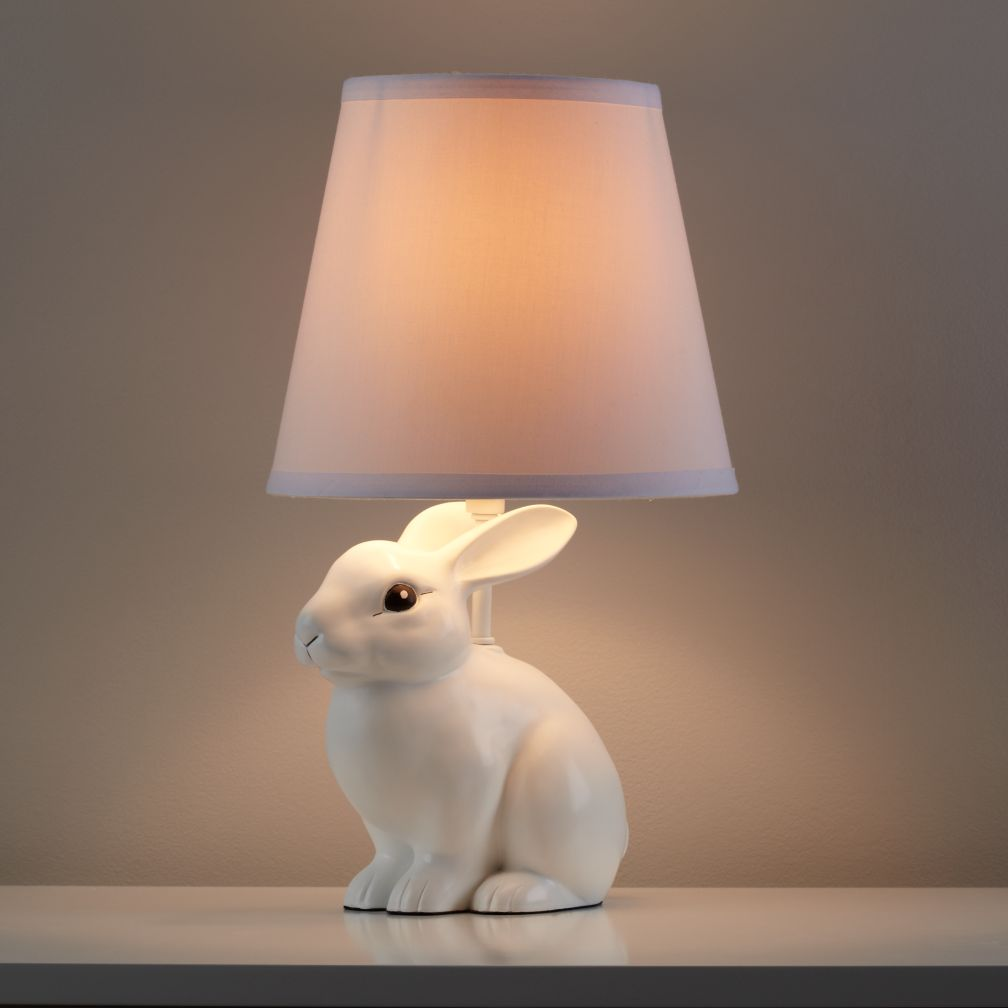 White Rabbit Table Lamp