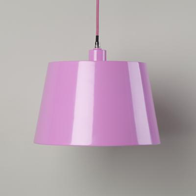 Pop of Color Pendant Shade (Lavender)