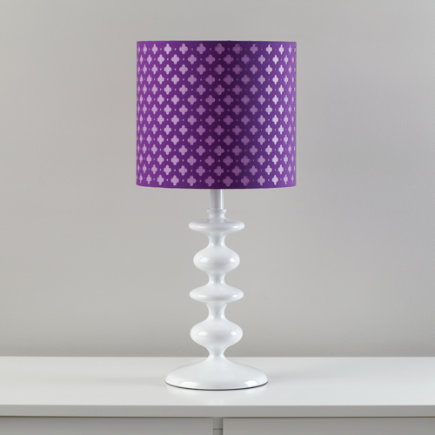 Kids Floor Lamps: Purple Clover Table Lamp Shade   Purple Glow Lightly Table  Shade