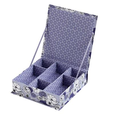 Flower Girl Collection Box (Purple)
