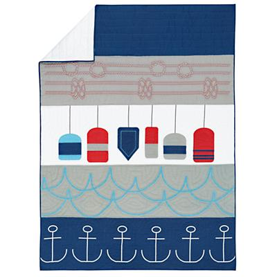 Oh Buoy Quilt (Full-Queen)