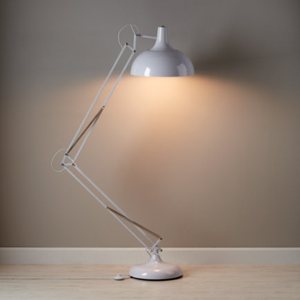 Kids Lighting: Giant White Floor Lamp - White Big Floor Lamp