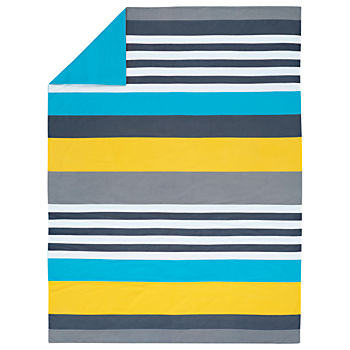 Wide Lined Duvet Cover (Twin)