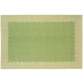 Pretty as a Picture Frame Rug (Green)