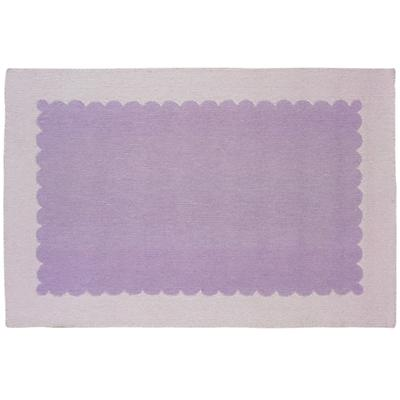8 x 10' Pretty as a Picture Frame Rug (Lavender)