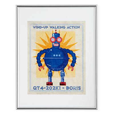 Retrobot Wall Art (Blue)