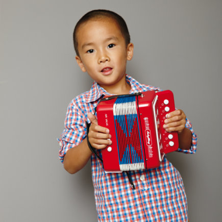 Kids Musical Instruments: Kids Accordian - Accordion