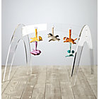 Set Acrylic Activity Gym With 5 Animal Rattles