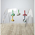 Set Acrylic Activity Gym With 5 Car Rattles