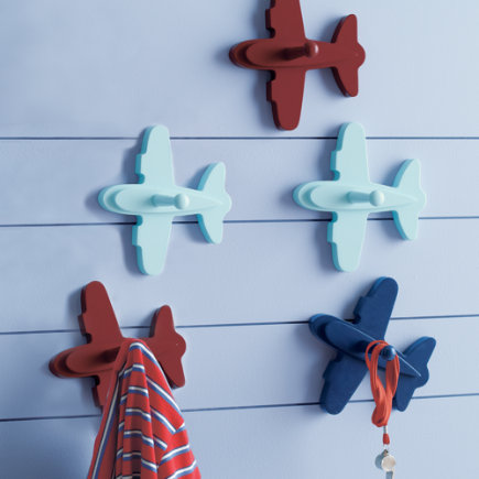 Lambs and Ivy Aloha Baby Wooden Wall Decor with Pegs