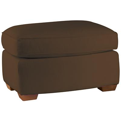 American Rocker Ottoman (Chocolate)