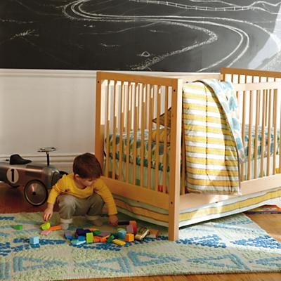 Elephants in the Room Baby Quilt