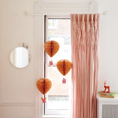 Antique Chic Curtains (Pink)