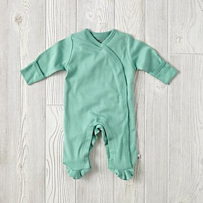 6-12 Months Babysoy Footie Pajamas (Green)