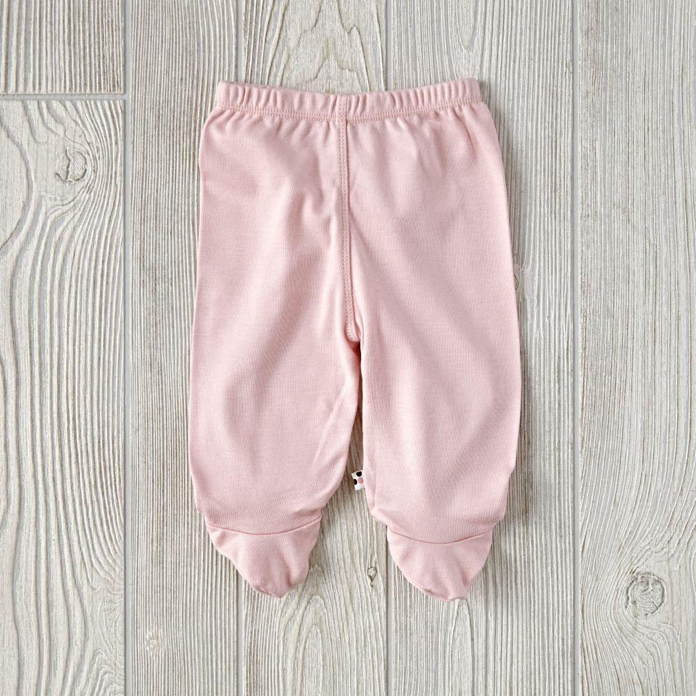 Babysoy Footie Pants (Pink)