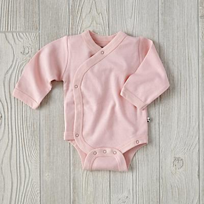 0-3 Months Babysoy One-Piece (Pink)
