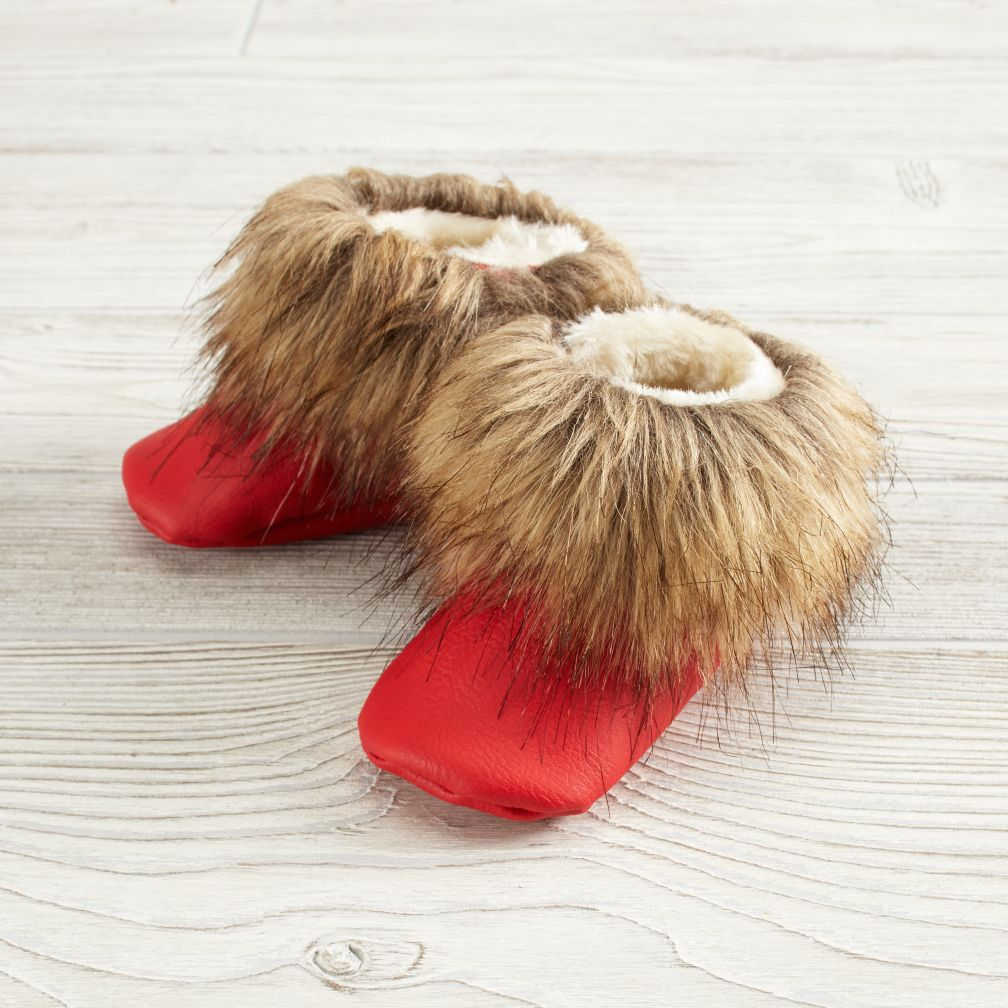 Boho Booties (Red)