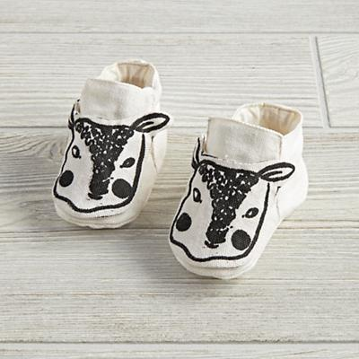 0-6 Months Farmland Booties (Natural Lamb)
