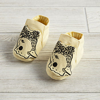 0-6 Months Farmland Booties (Yellow Duck)