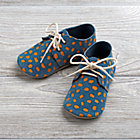 Blue Zuzii Baby Shoes Size 2