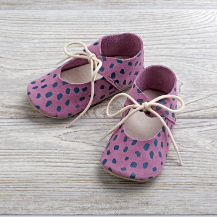 Zuzii Baby Shoes (Purple) - Lavender Zuzii Baby Shoes Size 1