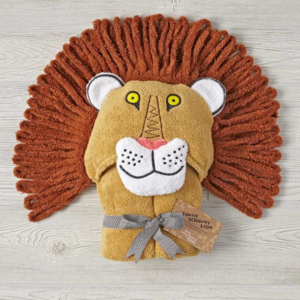 Little Golden Books Hooded Towel (Tawny Scrawny Lion)
