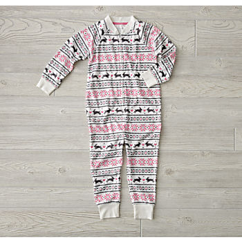 Snowbunny Fleece One Piece (2T)