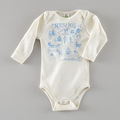 6-12 mos. Maptote One-Piece (North Pole)