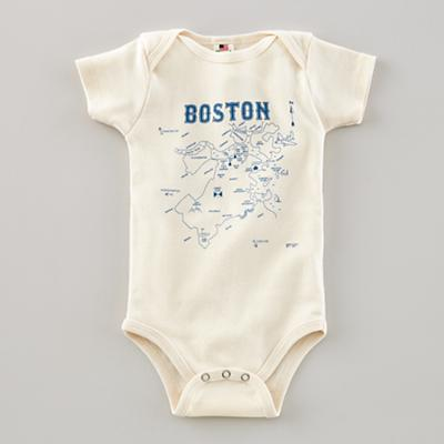 6-12 mos. Maptote One-Piece (Boston)