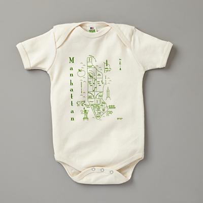3-6 mos. Maptote One-Piece (Manhattan)