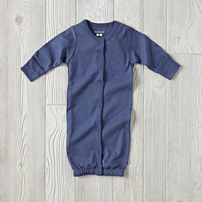 Babysoy Navy Gown (3-6 Months)