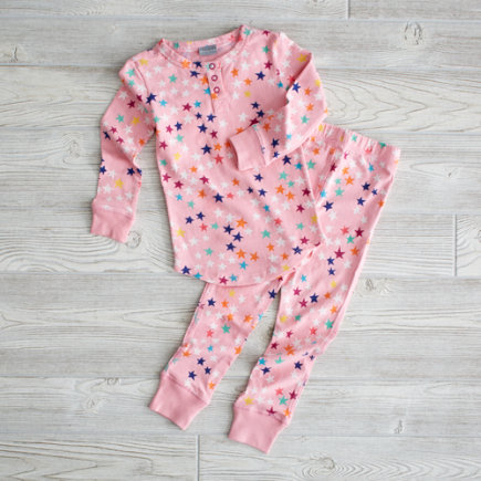 2T Pink Superstar Pj Set