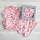0-3 mos. Pink Superstar Gift Set.