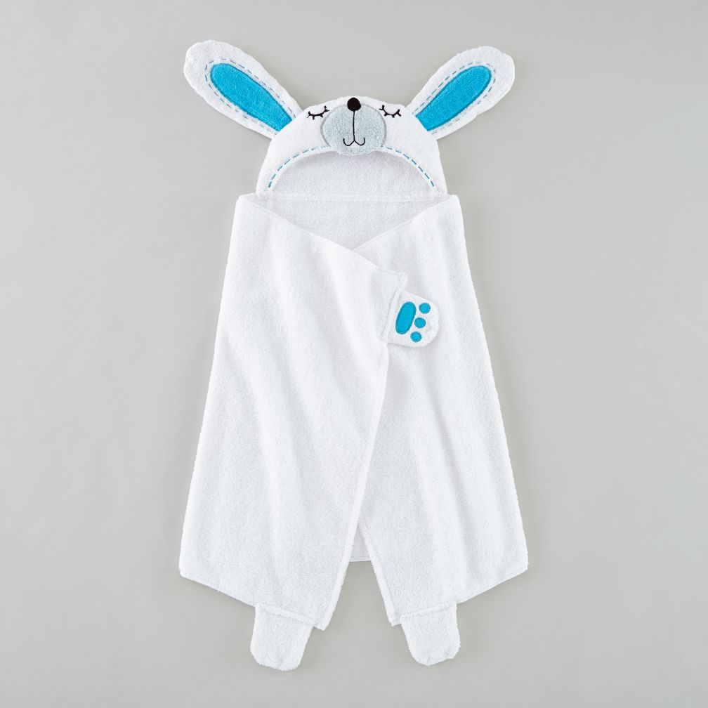 How Do You Zoo Hooded Towel (Bunny)