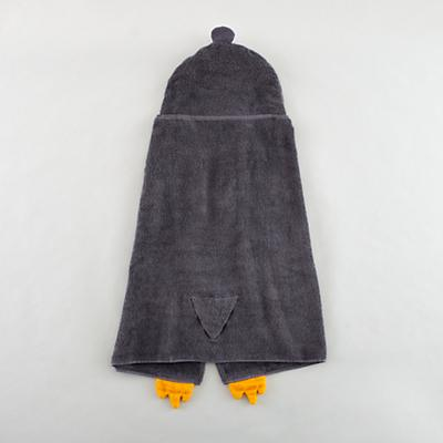 How Do You Zoo Hooded Towel (Penguin)