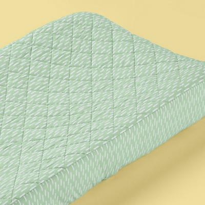 Green Leaves Changer Pad Cover