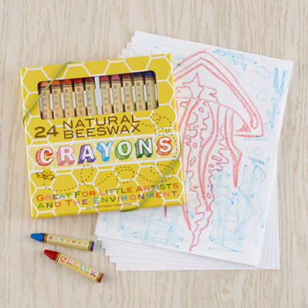 Set of 24 Beeswax Crayons